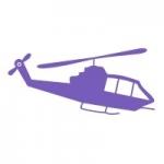 Naklejka na ścianę dla dzieci Helikopter M11