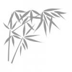 Naklejka na lusterko Bambusy L2
