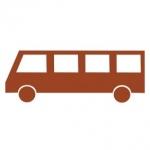 Naklejka na ścianę Autobus M1