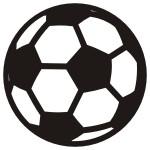 Naklejka tablicowa Piłka nożna T3