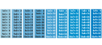 Naklejka ścienna Tabliczka mnożenia K2