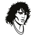 Szablon do dekoracji Jim Morrison S4