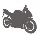 Szablon dekoracyjny Motocykl S2