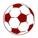 Naklejka dekoracyjna Piłka nożna M23