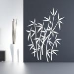 Naklejki ścienne welurowe Bambusy W4