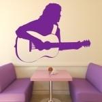 Naklejka na ścianę Gitarzysta M7