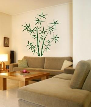 Naklejki bambusy na powierzchnie płaskie