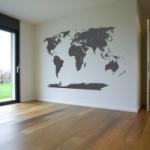 Szablon malarski Mapa świata S1