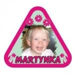Naklejka na samochód Martynka A10