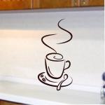 Naklejka ścienna Filiżanka z kawą M1