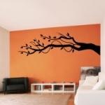 Szablon do malowania Gałąź drzewa S10