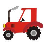 Naklejka na ścianę Traktor K21