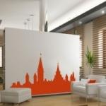 Naklejka na ścianę Panorama Miasta M5