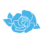 Naklejka na płytki Róża K42