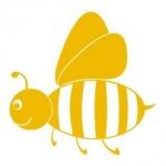 Naklejka na ścianę Pszczoła M11
