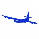 Szablon do pomalowania Samolot S6