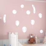 Naklejki na ścianę dla dzieci z balonami M21