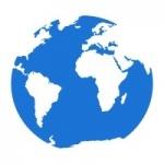 Naklejka na ścianę Ziemia M15
