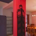 Szablony dekoracyjne Wieża Big Ben S5