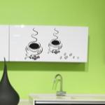 Naklejki do kuchni na szafki kuchenne Kawa z coffee M9