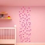 Naklejki dekoracyjne na ścianę Kółka M3
