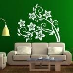 Naklejka do dekoracji pokoju Flora M6