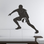 Naklejka na ścianę Koszykarz M15