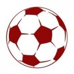 Szablon do pomalowania Piłka nożna S4