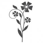 Szablon do dekoracji Kwiat S31