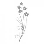Naklejka na lustro Kwiatki L7