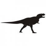 Naklejka na ścianę Dinozaur M24
