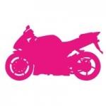 Naklejka ścienna Motocykl M3