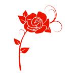 Naklejka na płytki Róża K38