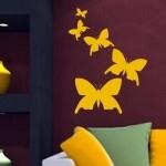 Szablony dekoracyjne Zestaw motyli S20