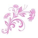 Naklejka dekoracyjna Esy floresy M4