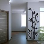 Szablon dekoracyjny Bambusy S14