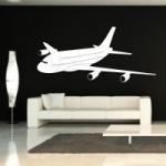 Naklejka na ścianę Samolot M11