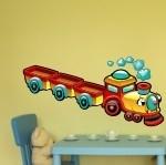 Naklejka Pociąg z wagonikami K3