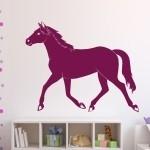 Naklejka welurowa Koń W8