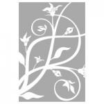 Naklejka na szyby Motyw florystyczny O13