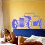 Naklejka dekoracyjna Samochód Roadster M9